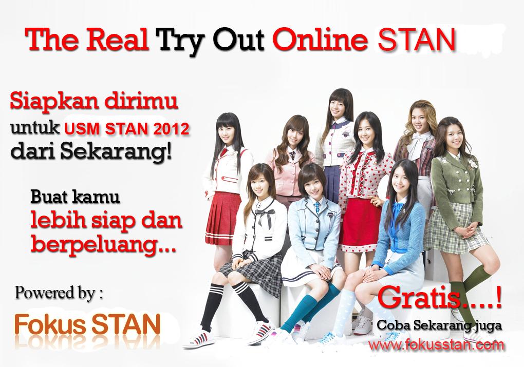 try out online selain untuk menguji kemampuan peserta usm stan try out